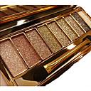 9 colores Sombras de Ojos / Iluminadores y Bronceadores Ojo Diamante / FLASH / Tapa de Una Abertura Gloss brillante Gloss colorido Larga Duración Maquillaje de Diario / Maquillaje de Halloween
