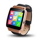 Da uomo Smart watch Digitale Touchscreen / Telecomando / Calendario / allarme / Pedometro / Fitness tracker / Cronometro Pelle Banda