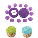 14pcs cupcake decorating set molde de pastel de chocolate de decoración de la torta de los pasteles