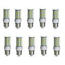 10pcs 10 W 850-950 lm E14 / G9 / GU10 Bombillas LED de Mazorca Tubo 69 Cuentas LED SMD 5730 Impermeable / Decorativa Blanco Cálido /