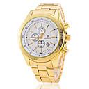 Hombre Reloj de Pulsera Calendario Aleación Banda Encanto / Moda Dorado / Jinli 377