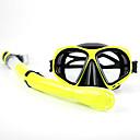 Maschere subacquee Diving Pacchetti Snorkels Adulto Sub e immersioni Nuoto Rosso Giallo Viola Nero Bianco PVC Vetro Silicone