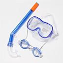 Maschere subacquee Diving Pacchetti Snorkels bambini Sub e immersioni Nuoto Rosso Giallo Blu PVC Silicone