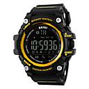 SKMEI Da uomo Da donna Orologio sportivo Smart watch Orologio da polsoLCD Telecomando Calendario Resistente all'acqua allarme Pedometro