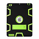 Funda Para Apple Antigolpes / con Soporte / Rotación 360º Funda de Cuerpo Entero Diseño Geométrico Dura ordenador personal para iPad Air / iPad 4/3/2 / iPad Mini 3/2/1 / iPad (2017)
