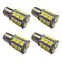 1157 1156 Coche Bombillas 2.5W W SMD 5050 200lm lm LED las luces exteriores