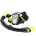 Image of Contenitori per immersioni Snorkels Set per snorkeling Maschere subacquee Maschera con boccaglio Protettivo Sub e immersioniVetro
