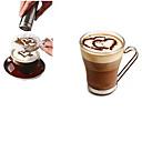 1pc Acero inoxidable café de la plantilla Manual ,