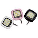 1 pcs ywxlight llevó la luz de relleno de destello iphone teléfono celular portátil recargable