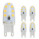 5pcs 2W 180lm G9 Luces LED de Doble Pin T 14 Cuentas LED SMD 2835 Blanco Cálido / Blanco Fresco 220-240V / 5 piezas