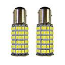 1157 Coche Bombillas 4W W SMD 3528 385lm lm Luz de Intermitente