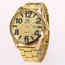 Image of Per uomo Orologio da polso Orologio elegante Orologio alla moda Cinese Quarzo imitazione diamante Lega Banda Casual Elegant Oro