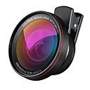 2 en 1 kit profesional de lente de cámara hd 0.6x lente gran angular 10x lente macro universal clip en lente de teléfono celular para