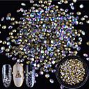 1pcs Brillante / Adornos / Joyería de uñas Diamante de imitación / Elegante / Brillos Y Estrellas Cristal / Lujo / Diseños de Moda Diario