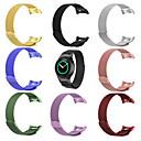 correa de reloj para el engranaje s2 rm-720 rm 730 samsung galaxy milanese loop pulsera de acero inoxidable