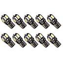 10pcs Coche Bombillas 1.6W SMD 5630 8 Luz de Intermitente For Universal Todos los Años