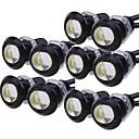 10pcs Bombillas 9W LED de Alto Rendimiento 1 Luz de Circulación Diurna For Universal Motores generales Todos los Años