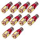 10pcs Bombillas 10W SMD 3014 57 Luz de Intermitente For Universal Motores generales Todos los Años