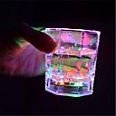 1pc rainbow flashing light up copas de vino con luces brillantes led vino / cerveza taza para discoteca bar fiesta de cumpleaños ktv navidad 7 colores 170ml