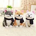 1PC Wear scarf Shiba Inu Perros Animales de peluche y de felpa Encantador Exquisito Confortable Chica Juguet Regalo 1 pcs
