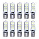 10pcs Bombillas 2W SMD LED 12 Luz de Intermitente For Universal Motores generales Todos los Años