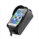 Bolso del teléfono celular 6 pulgada Pantalla táctil, Impermeable, Reflexivo Ciclismo para iPhone 8/7/6S/6 / iPhone X / Samsung Galaxy S8 / Note 8 Negro / Portátil