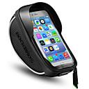 Bolso del teléfono celular 6 pulgada Pantalla táctil, Impermeable, Portátil Ciclismo para iPhone 8/7/6S/6 / iPhone X / Samsung Galaxy S8 / Note 8 Negro