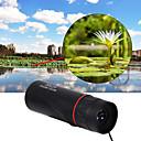10X25mm Monocular Portátil / Visión nocturna Asus BAK4 Revestimiento Múltiple 96/1000m Camping y senderismo / Caza / Trail