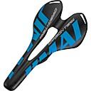 Image of Selle di bicicletta / Selle di bicicletta Comfort Design cavo Fibra di carbonio Ciclismo Bici da strada Mountain bike Blu