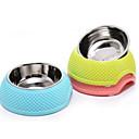 0.5 L Perros / Gatos Cuencos y Botellas de Agua Mascotas Cuencos y Alimentación Impermeable / Portátil / Fácil de Instalar Verde / Azul / Rosa