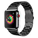 Correa de reloj hoco para reloj de Apple serie 4/3/2/1 hebilla clásica de acero inoxidable con correa de muñeca