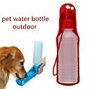 0.03-0.05 L L Perros / Gatos Cuencos y Botellas de Agua Mascotas Cuencos y Alimentación Portátil / Al Aire Libre Rojo / Azul / Rosa