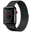 Acero Inoxidable Ver Banda Correa para Apple Watch Series 3 / 2 / 1 Negro / Azul / Plata 23cm / 9 pulgadas 2.1cm / 0.83 Pulgadas
