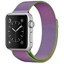 Acero Inoxidable Ver Banda Correa para Apple Watch Series 3 / 2 / 1 Morado 23cm / 9 pulgadas 2.1cm / 0.83 Pulgadas