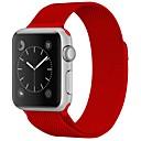 Acero Inoxidable Ver Banda Correa para Apple Watch Series 3 / 2 / 1 Rojo / Marrón / Verde 23cm / 9 pulgadas 2.1cm / 0.83 Pulgadas
