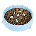0.5 L Perros / Gatos Alimentadores Mascotas Cuencos y Alimentación Impermeable / Portátil / Lavable Verde / Azul / Rosa