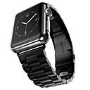 Acero Inoxidable Ver Banda Correa para Apple Watch Series 3 / 2 / 1 Negro / Plata / Dorado 23cm / 9 pulgadas 2.1cm / 0.83 Pulgadas
