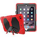 Cooho Funda Para Apple iPad (2017) / iPad Pro 9.7 Antigolpes / Antipolvo / Resistente al Agua Funda de Cuerpo Entero Un Color / Color Camuflaje / Armadura Dura ordenador personal / Gel de sílice para