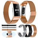correa de reloj para la carga fitbit 3 / carga 3 se / edición especial fitbit milanese loop pulsera de metal