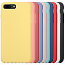 Image of custodia per apple iphone 6 / iphone 6 plus iphone 6s iphone7 iphone8 iphone7plusiphone8plus iphone x / xs / xsmas cover posteriore antiurto tinta unita rigido pc / gel di silice per