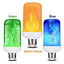 '1 Pc 7w Led Flame Effect Light Bulb E27 Flickering Flame Energy Saving For Festival Halloweenchristmaspaty Ac85-265v