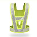 Image of giubbotto antinfortunistico ad alta visibilità giubbotto di sicurezza riflettente abbigliamento da lavoro fluorescente abbigliamento da lavoro a V-tipo