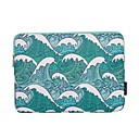 '13.3 Inch Laptop / 14 Inch Laptop / 15.6 Inch Laptop Sleeve Polyester Lines / Waves For Women Unisex Shock Proof