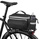 Image of ROSWHEEL 10 L Borse posteriori da bici Ompermeabile Indossabile Resistente agli urti Borsa da bici Tessuto Poliestere PVC Marsupio da bici Borsa da bici Ciclismo / Bicicletta
