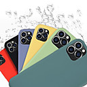 Image of Custodia Per Apple iPhone 11 / iPhone 11 Pro / iPhone 11 Pro Max Resistente agli urti / A prova di sporco / Fantasia / disegno Per retro Con logo Apple / Mattonella / Tinta unita Silicone / Gel di