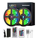 Home & Garden 5M 10M 15M 20M LED Strip Lights RGB DC12V LED Lights Flexible Color Change SMD 2835 with IR Remote Controller and 100-240V Adapter for Home Bedroom Kitchen TV Back Lights DIY Deco