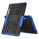 Consumer Electronics Case For Samsung Galaxy Tab S7 Plus T970 975 976 Shockproof with Stand Back Cover Solid Colored TPU PC