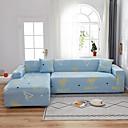 Image of cuore blu 1 pezzo copridivano copridivano copridivano protezione per mobili fodera per divano morbido elasticizzato tessuto jacquard in spandex super adatto per divano 1 ~ 4 cuscini e divano a forma