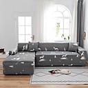 Image of Elk print 1 pezzo copridivano copridivano copridivano protettore morbido divano elasticizzato fodera in spandex tessuto jacquard super fit per 1 ~ 4 cuscino divano e divano a forma di l, facile da