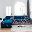 Image of stampa piuma 1 pezzo copridivano copridivano copridivano protezione per mobili fodera per divano morbido elasticizzato tessuto jacquard spandex super adatto per divano 1 ~ 4 cuscino e divano a forma